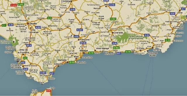 almeria spanien karta Meny för solkusten almeria spanien karta